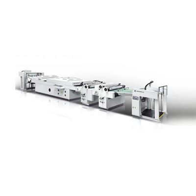 HC-1200E全自动全面上光机