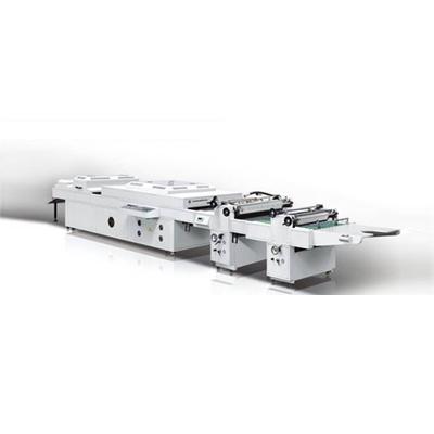 HC-1200E半自动全面上光机